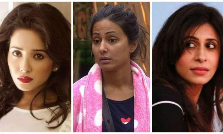 Hina Khan, Kishwer Merchantt and Asha Negi