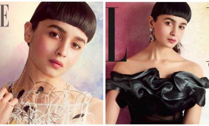 Alia Bhatt's new hairstyle