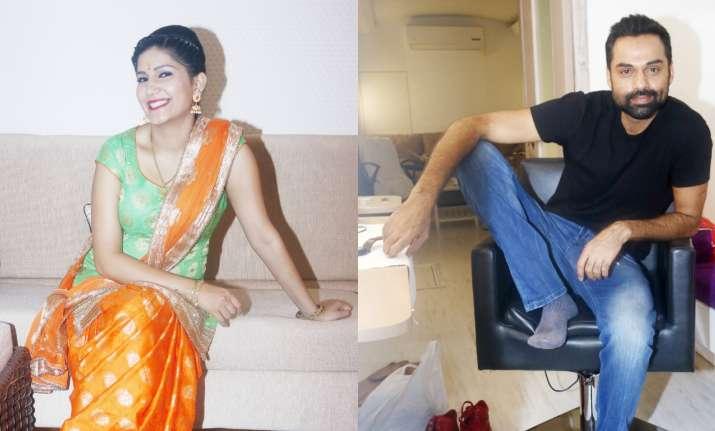 Sapna Chaudhary and Abhay Deol