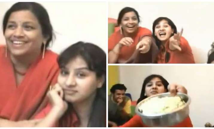 Screenshots from Shilpa Shinde's unseen video