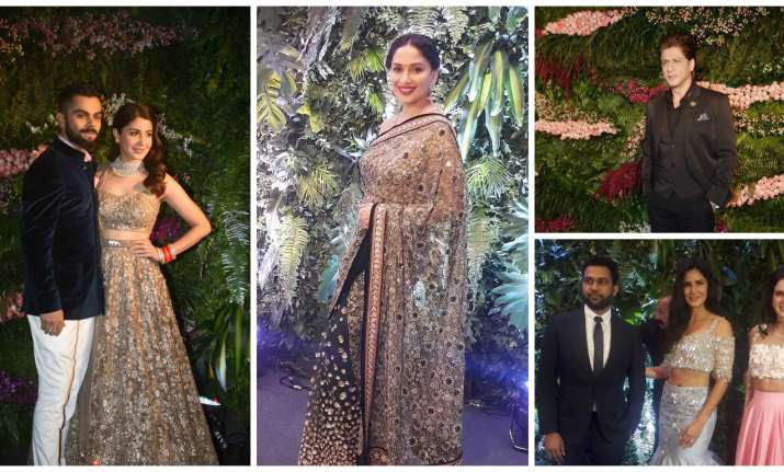 Guests at Virat Kohli, Anushka Sharma's Mumbai reception