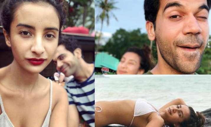Rajkummar and Patralekhaa's vacation pictures