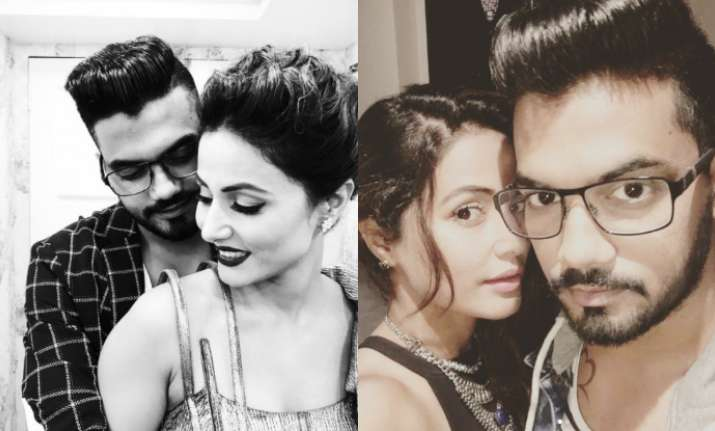 Hina Khan breaks down on seeing BF Rocky Jaiswal in Bigg