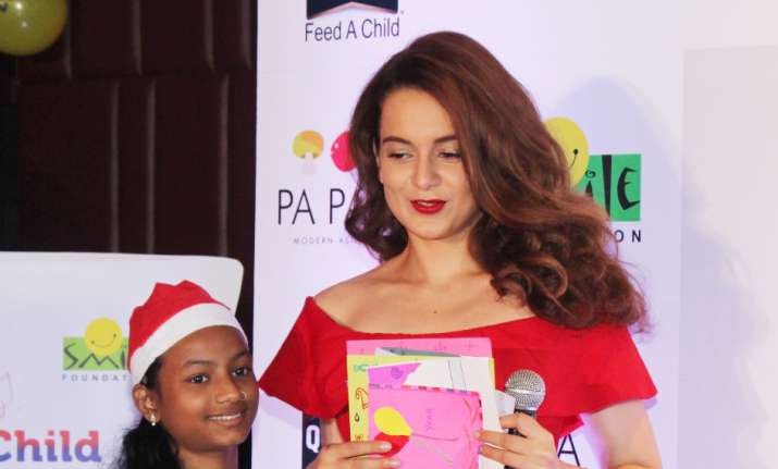 Kangana Ranaut celebrates Christmas 2017 with