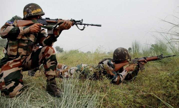 Pakistani forces target Indian forward posts in Kashmir's