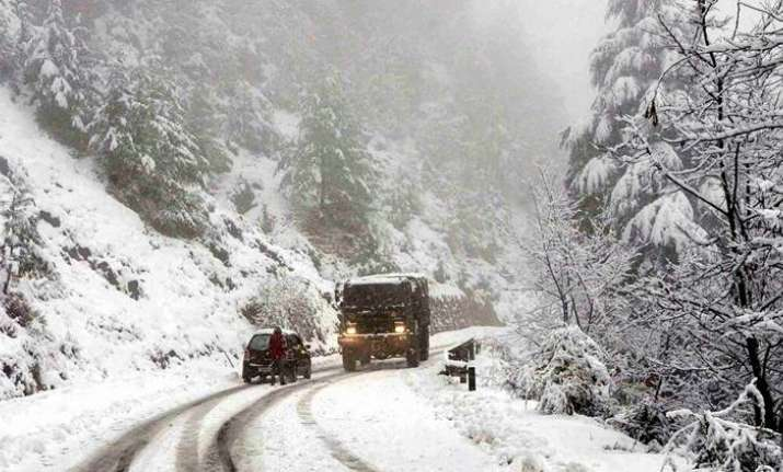 Srinagar recorded 2.3 as the minimum temperature while it