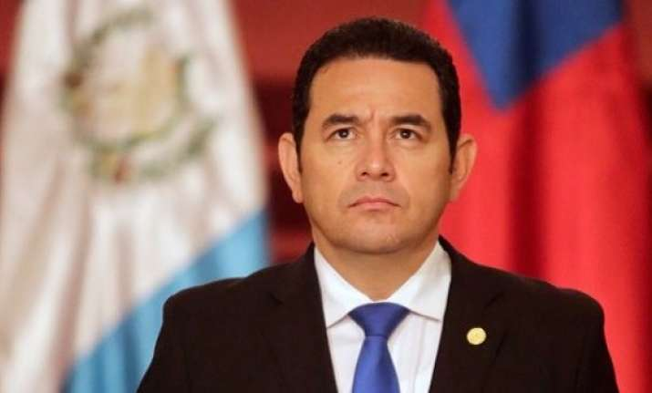 Guatemala's president Jimmy Morales announced on Christmas