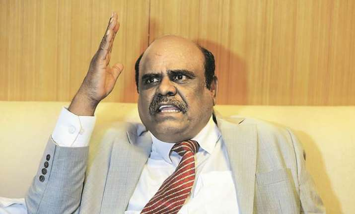 Former Calcutta High Court judge C S Karnan. File Photo.