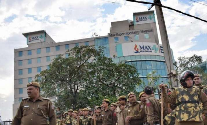 Government's decision on Max Hospital irrational,