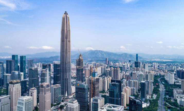 Shenzhen is home to this year's biggest new skyscraper, the