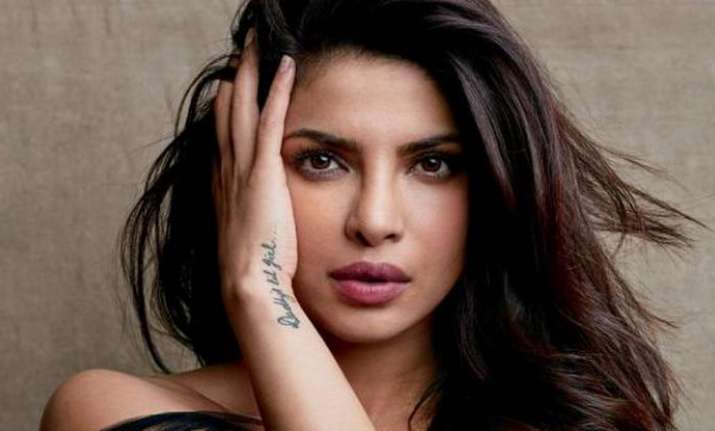 Priyanka Chopra poses for magazine cover