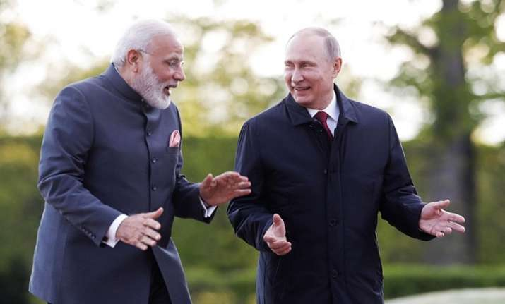 In New Year message, Vladimir Putin greets PM Modi,