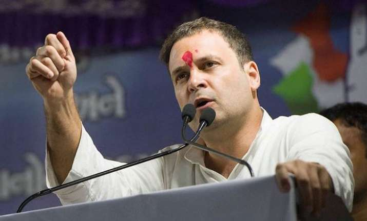 Rahul Gandhi to file nominations for Congress president