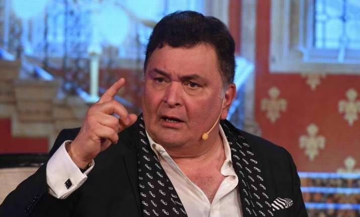 Rishi Kapoor objects to journalists at launch of book on