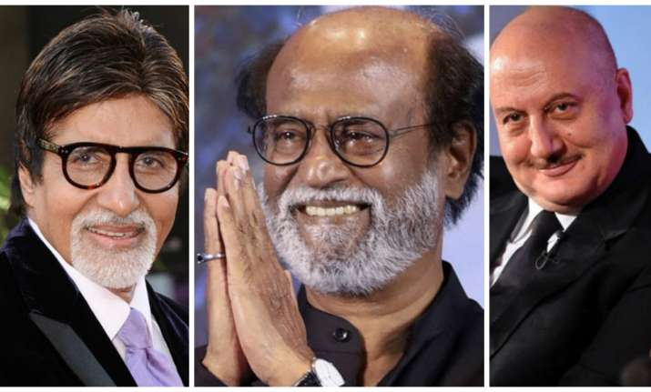 Bollywood stars wish Rajinikanth for his entry in politics