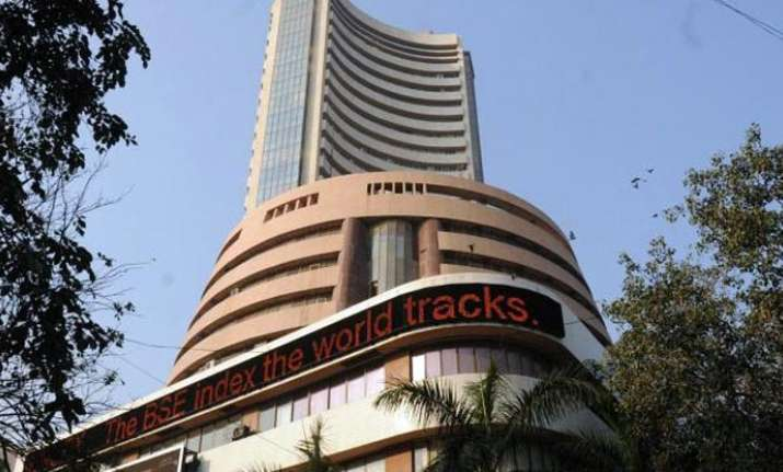 The BSE Sensex scaled the 34,000 mark to trade at a new