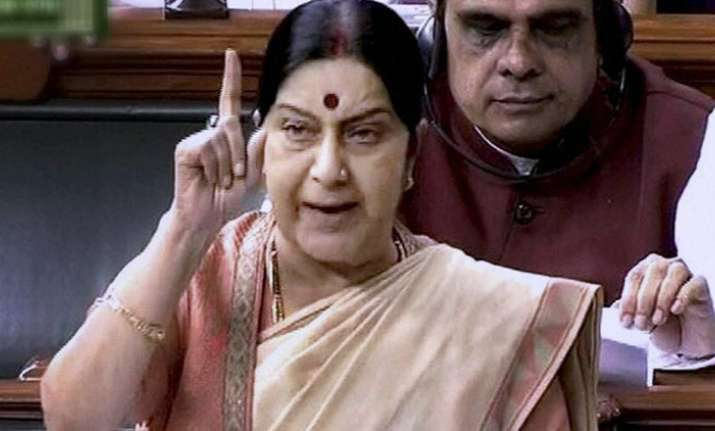 External Affairs Minister Sushma Swaraj is expected to give