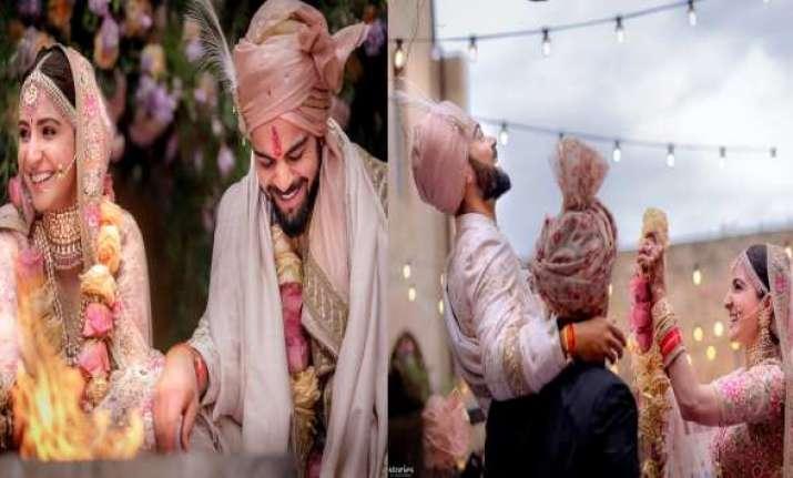 Virat kohli Anushka sharma thank wedding planners