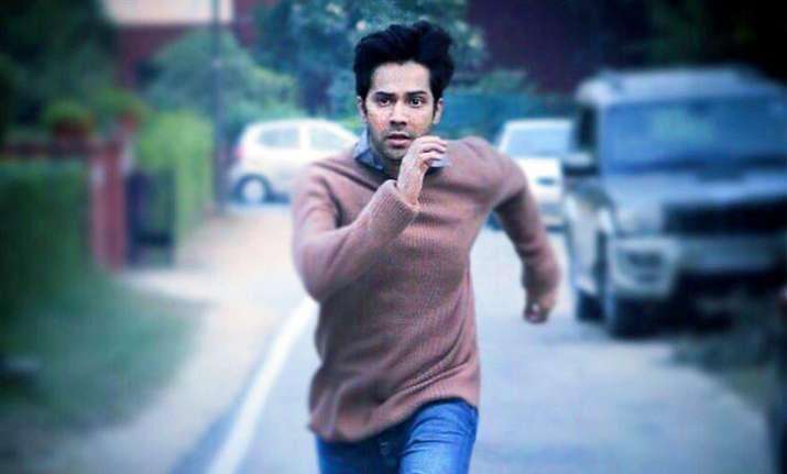 Varun Dhawan shares October release date