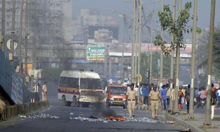 Koregaon violence. PTI Photo.