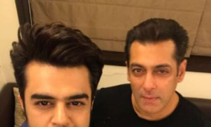 Salman Khan is supportive of whatever I do, says Maniesh