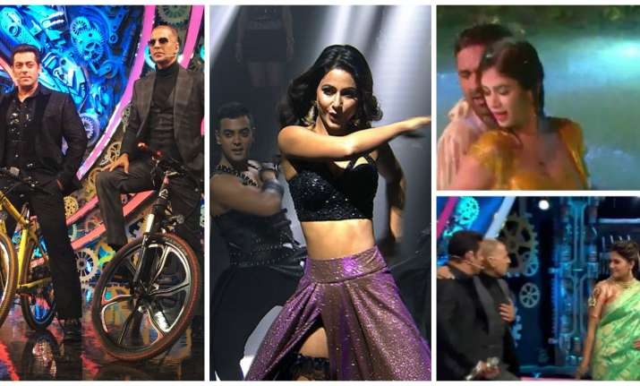 A glimpse of Bigg Boss 11 finale night (PC: Twitter/ Bigg