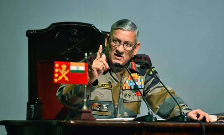 Indian Army chief Bipin Rawat's 'unconstructive' comments