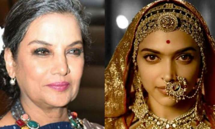 Padmaavat row: Shabana Azmi calls for action against people