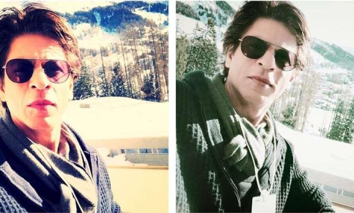 Shah Rukh Khan bids farewell to Davos