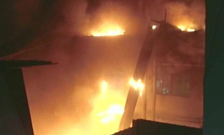 Fire breaks out at a factory in Delhi's Udyog Nagar, 27