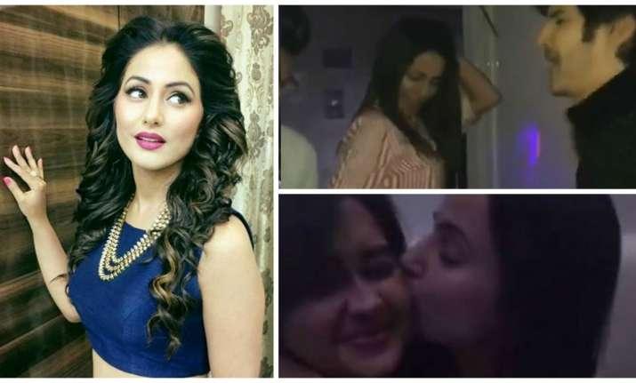 Hina Khan parties after Bigg Boss 11