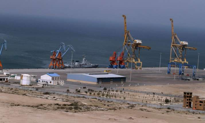 Gwadar is strategically located in the Arabian Sea and some