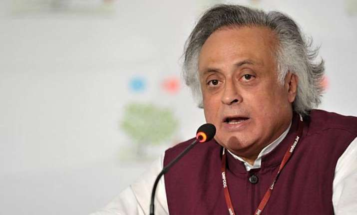 Senior Congress leader Jairam Ramesh