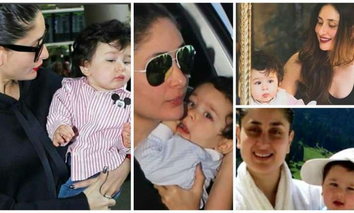 Kareena and Taimur's Instagram pictures