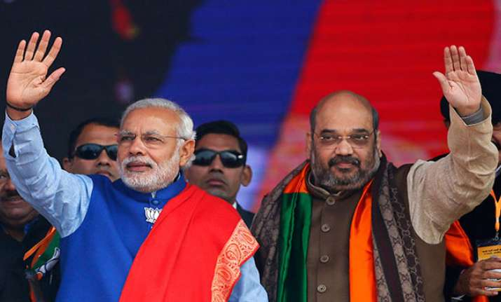 File photo of PM Modi and Amit Shah