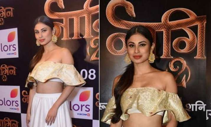 Mouni Roy trolled for wearing off-shoulder dress