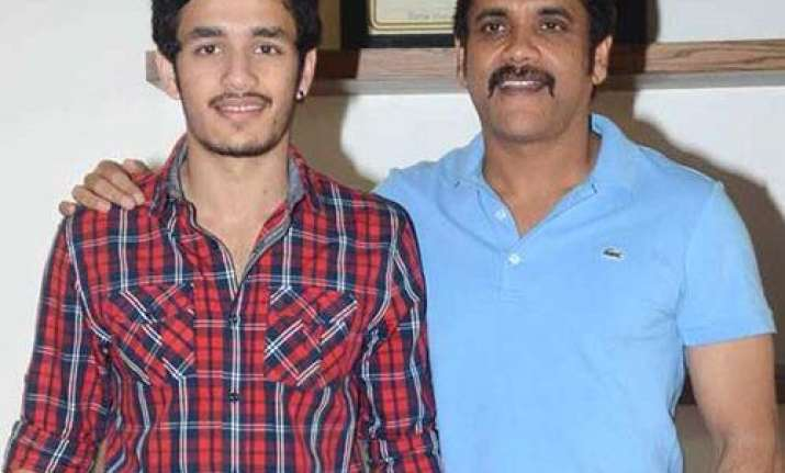 Nagarjuna on son Akhil Akkineni's performace in Hello: