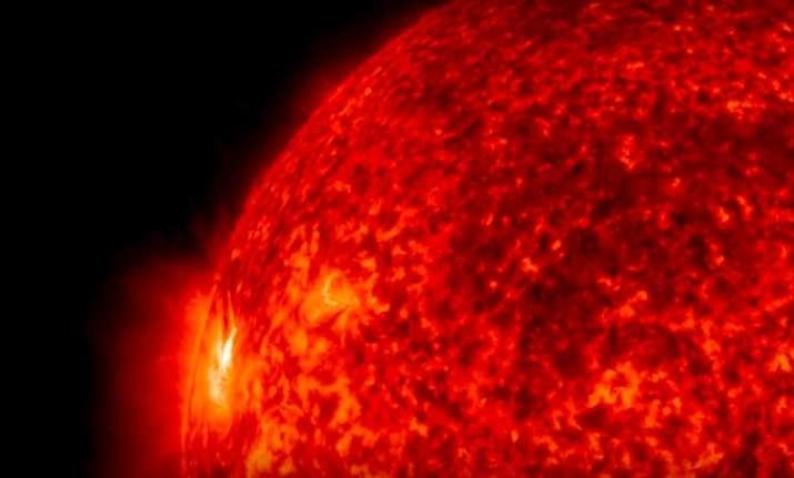 Solar dynamo captured by NASA in 2016. Image credit NASA.