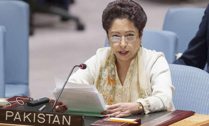 Maleeha Lodhi, Pakistan's permanent representative to the