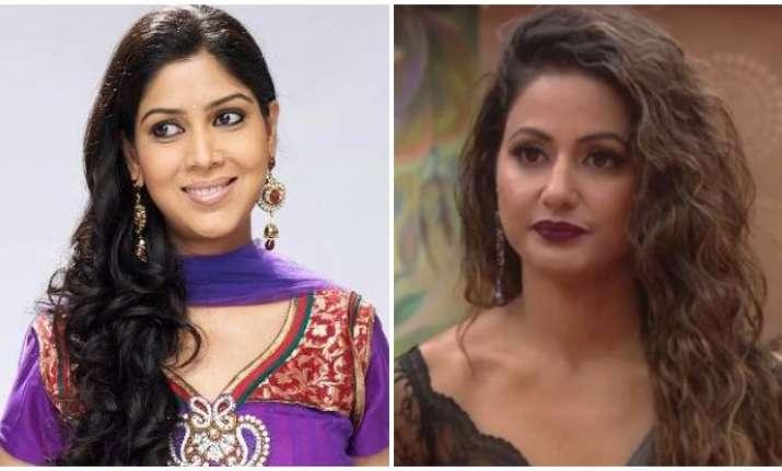 Bigg Boss 11 runner-up Hina Khan on calling Sakshi Tanwar