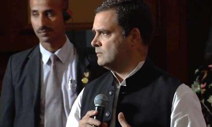 Congress left BJP struggling in its bastion Gujarat Rahul
