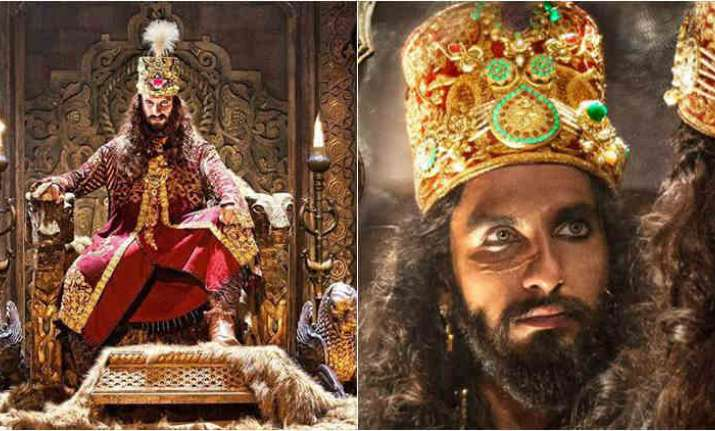 Ranveer Singh describes Alauddin Khilji as a 'monster'