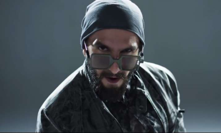 Ranveer Singh raps for Gully Boy title track