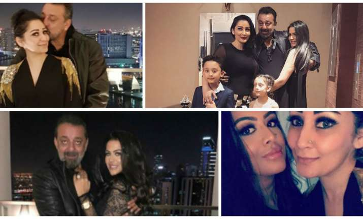 Sanjay Dutt celebrated New Year with family in Dubai