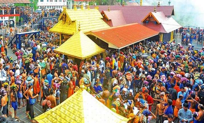 Sabarimala temple does not allow women aged between 10-50