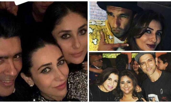 Celebs at Shah Rukh Khan's party