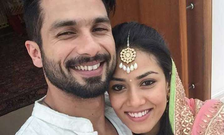 Ahead of Padmaavat release, wife Mira Rajput shares Shahid