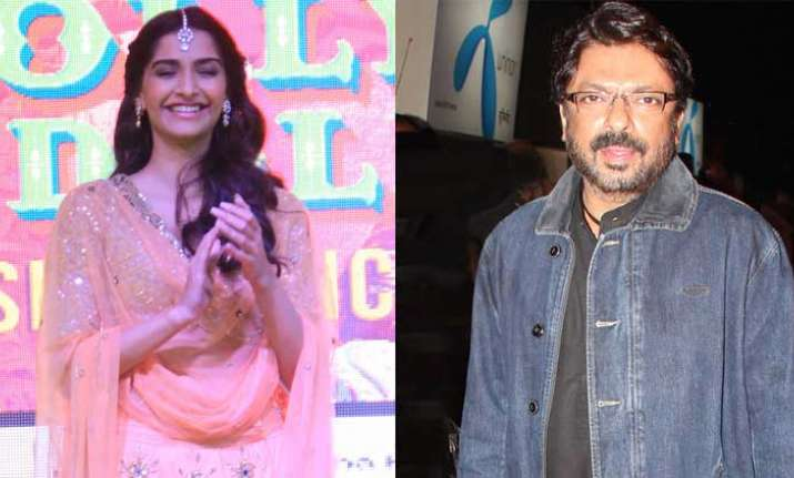 Sonam Kapoor to Sanjay Leela Bhansali for Padmaavat