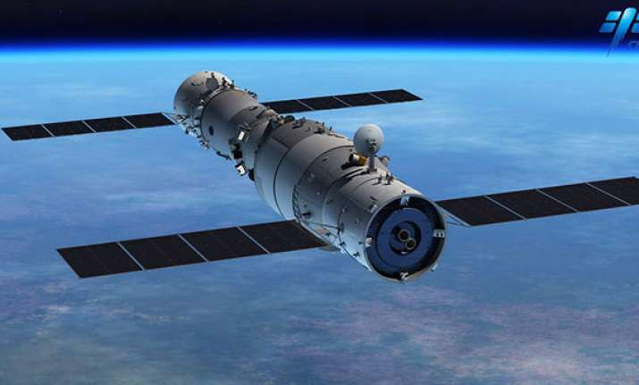 Chinese space centre Tiangong 1 was launched in 2011