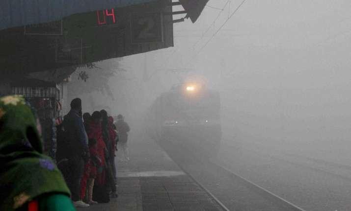 Dense fog engulfs Delhi; 28 trains cancelled, 36 delayed
